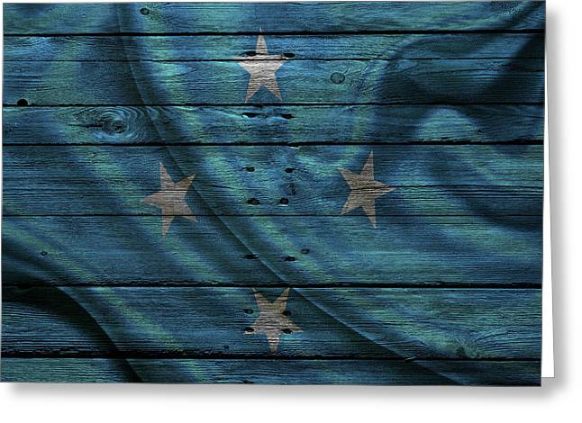 Continent Greeting Cards - Micronesia Greeting Card by Joe Hamilton