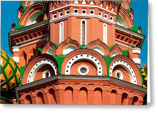 Commonwealth Of Independent States Greeting Cards - Mid Section View Of A Cathedral, St Greeting Card by Panoramic Images