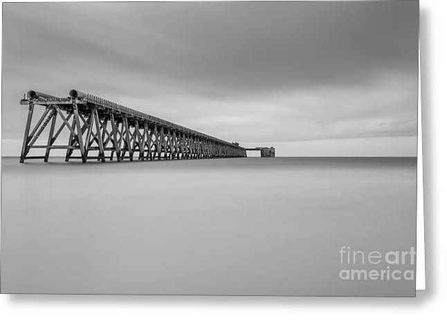 Hartlepool Greeting Cards - Middle of Nowhere Greeting Card by Bahadir Yeniceri