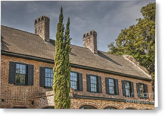 Charleston Pathway Greeting Cards - Middleton Rooftop Greeting Card by Dale Powell