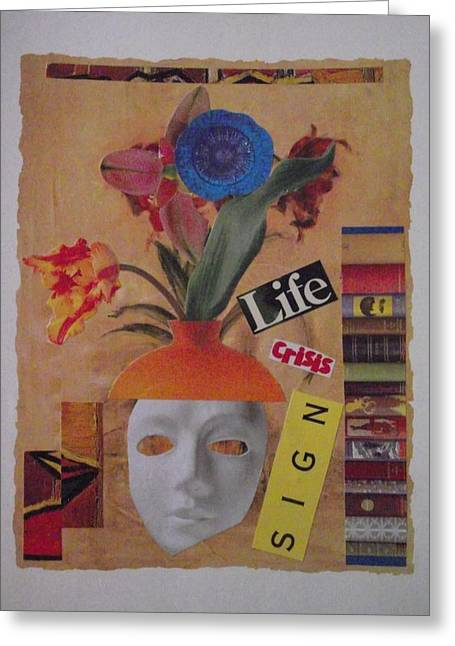 Midlife Mixed Media Greeting Cards - Midlife Crisis Greeting Card by Marius Popa