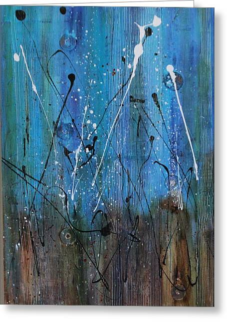 Starry Nights Greeting Card by Lauren Petit