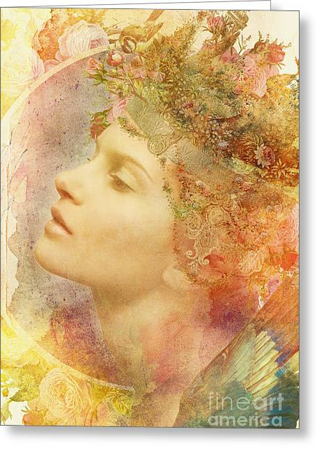 Watercolour Photographs Greeting Cards - Midsummer Greeting Card by Aimee Stewart