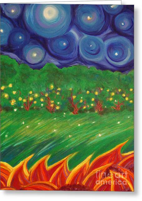 Medical Pastels Greeting Cards - Midsummer by jrr Greeting Card by First Star Art