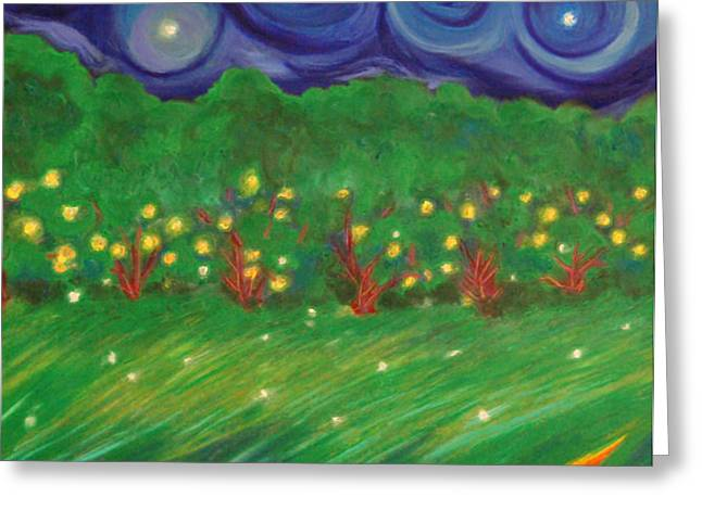 Midsummer by jrr Greeting Card by First Star Art