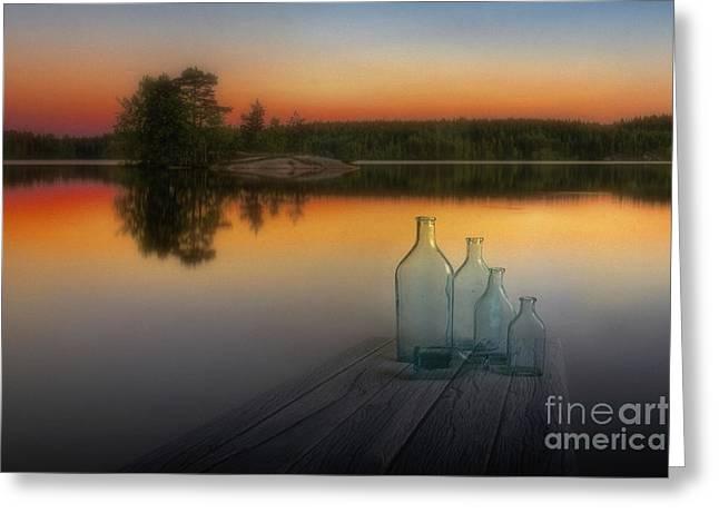 Midsummer Magic Greeting Card by Veikko Suikkanen