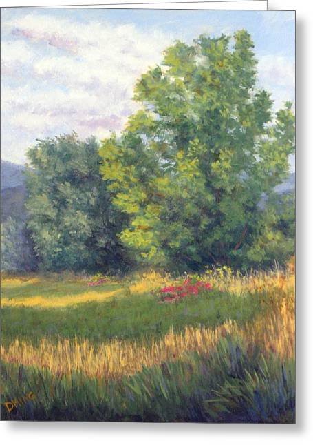 Heber Springs Greeting Cards - Midway Field Greeting Card by David King
