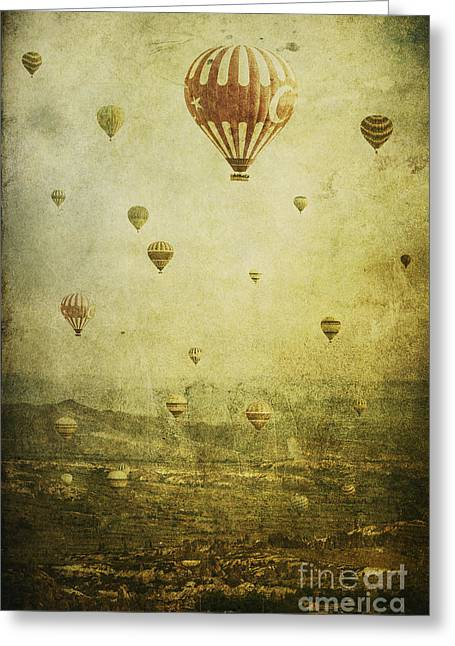 Photoart Greeting Cards - Migration Greeting Card by Andrew Paranavitana