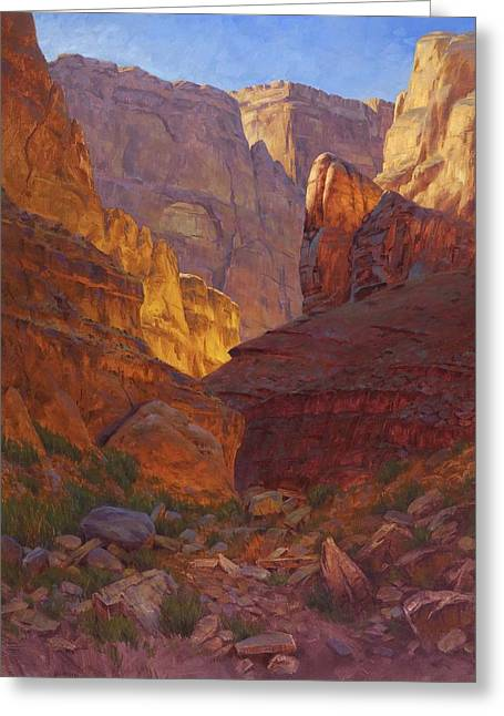 Mile 202 Canyon Greeting Card by Cody DeLong