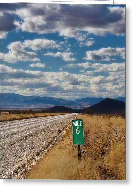 Rucker Greeting Cards - Mile 6 Greeting Card by Henry Kowalski