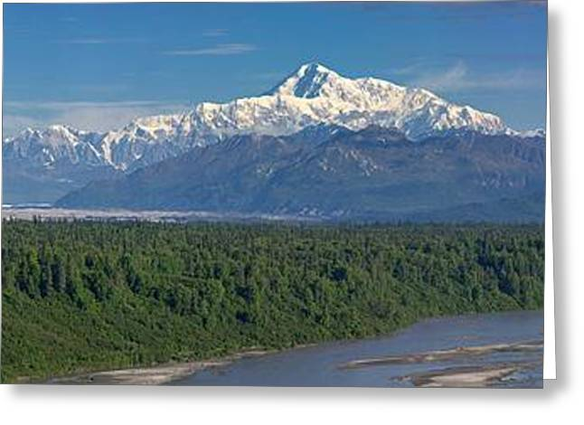 Alaska Greeting Cards - Mile Marker 134 Greeting Card by Ed Boudreau