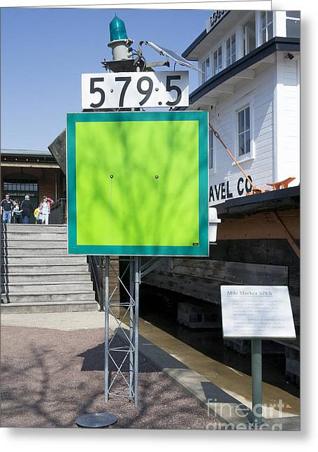 Mile Marker 579.5 Greeting Card by Steven Ralser