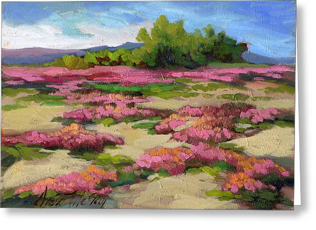 Verbena Greeting Cards - Miles Avenue Years Ago Greeting Card by Diane McClary
