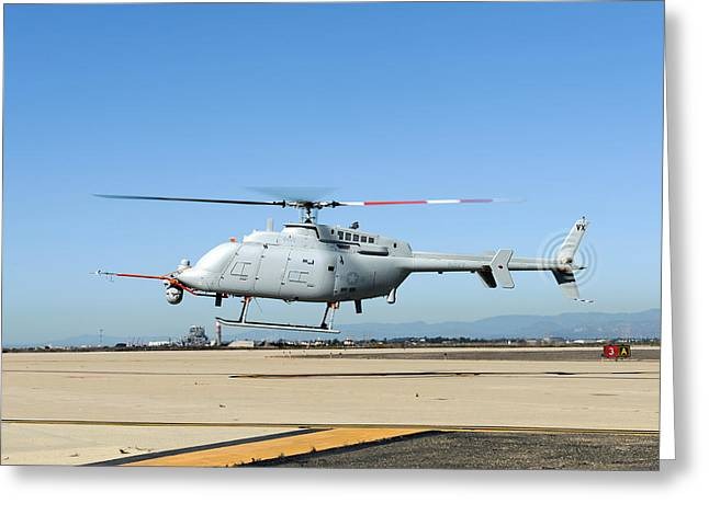 Military Helicopter Drone Greeting Card by Us Navy