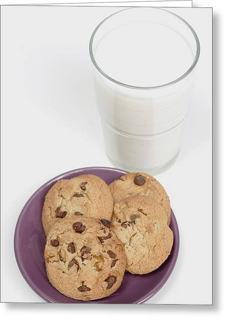 Will Power Greeting Cards - Milk And Cookies Greeting Card by Greenwood GNP