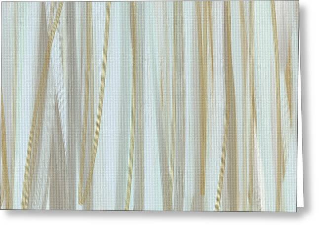 Beige Abstract Greeting Cards - Milky Brew Greeting Card by Lourry Legarde