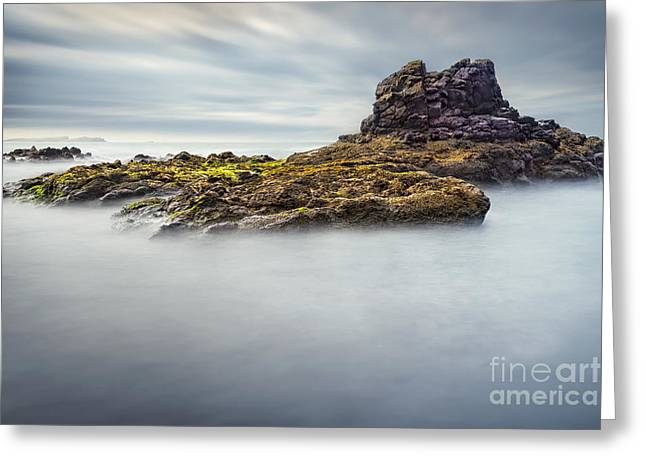 Tide Up Greeting Cards - Milky Sea Greeting Card by Svetlana Sewell