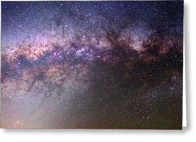 Milky Way And Galactic Centre Greeting Card by Babak Tafreshi