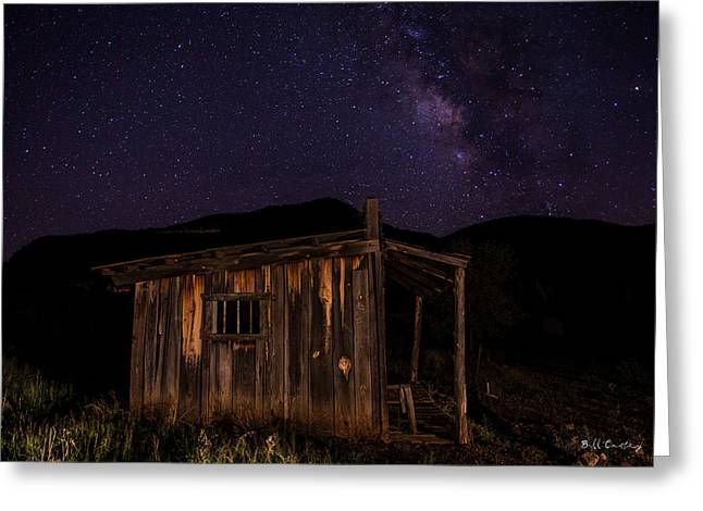 Milky Way Rising Greeting Card by Bill Cantey