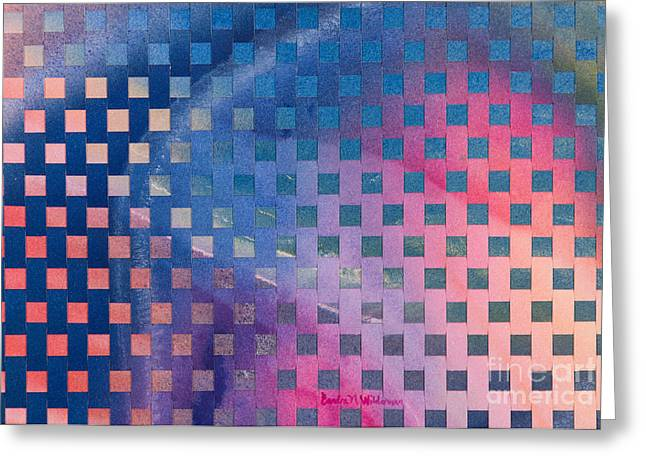 Celestial Abstract Greeting Cards - Milky Way Greeting Card by Sandra Neumann Wilderman