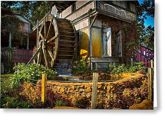 Old Grinders Mixed Media Greeting Cards - Mill 2 Greeting Card by Todd and candice Dailey