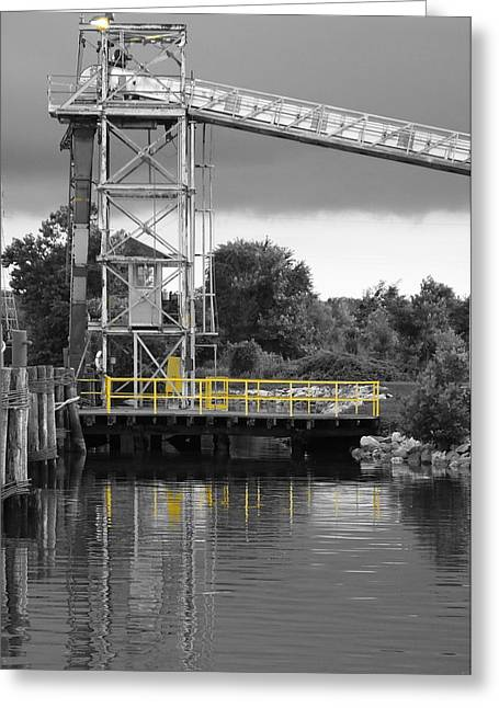 Mill In Selective Color  Greeting Card by Francie Davis