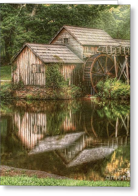Mill On The Blue Ridge  Greeting Card by Darren Fisher
