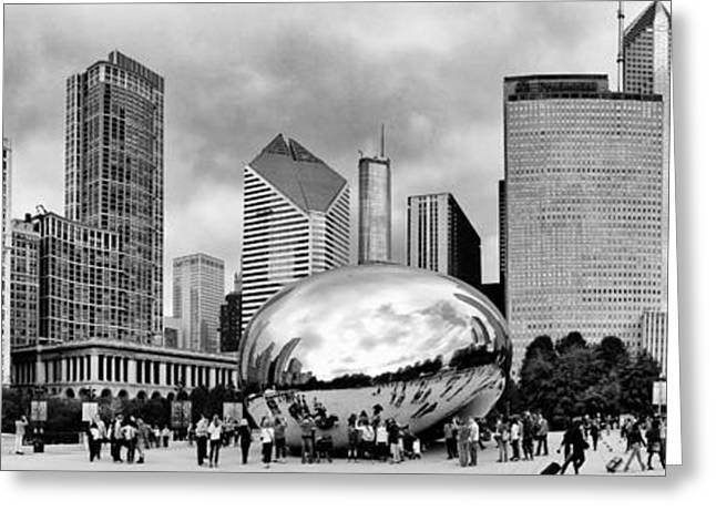 The Bean Greeting Cards - Millennium Park 01 Greeting Card by Robert Mariani