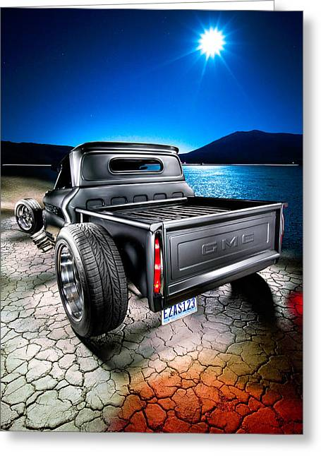 Millers Chop Shop 1964 Gmc Easy As 123 Greeting Card by Yo Pedro