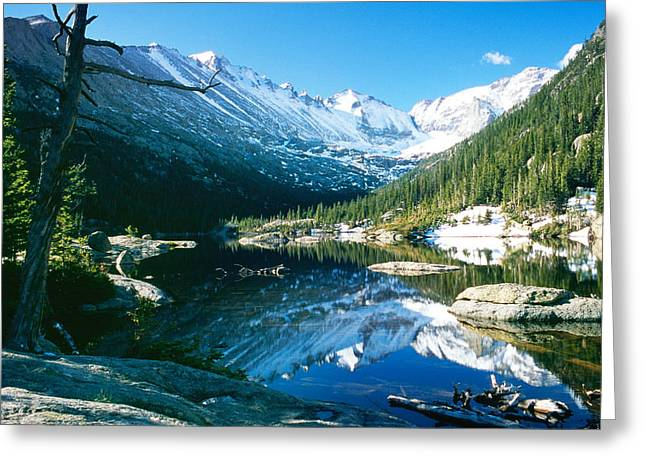 Us National Parks Greeting Cards - Mills Lake Greeting Card by Eric Glaser
