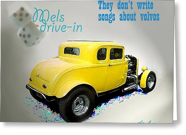 Recently Sold -  - 1955 Movies Greeting Cards - Milners Coupe Greeting Card by Barry Cleveland