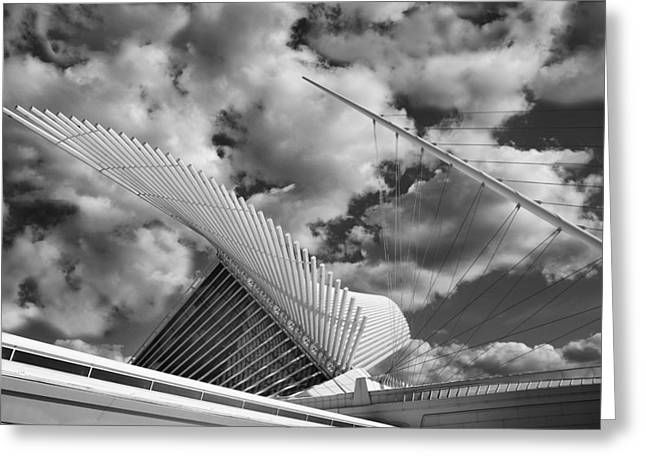 Process Greeting Cards - Milwaukee Art Center 2 Greeting Card by Jack Zulli