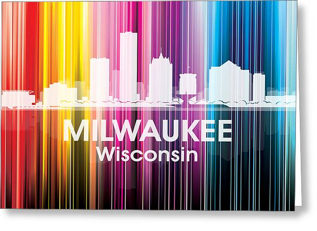 Industrial Icon Greeting Cards - Milwaukee WI 2 Greeting Card by Angelina Vick