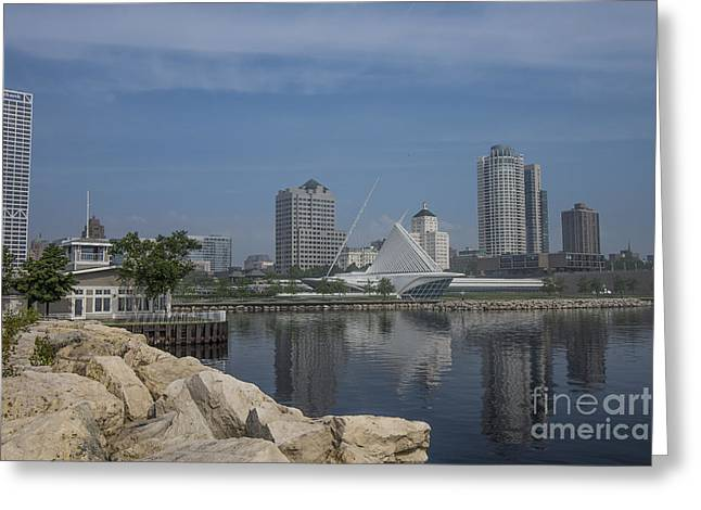 Baseball Art Photographs Greeting Cards - Milwaukee Wisconsin Greeting Card by David Haskett