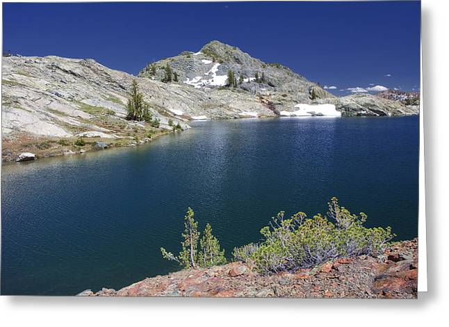 Siera Nevada Greeting Cards - Minaret Lake Greeting Card by Laszlo Rekasi
