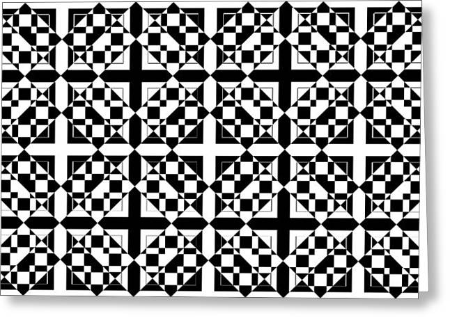 Op Art Greeting Cards - Mind Games 72 se Greeting Card by Mike McGlothlen