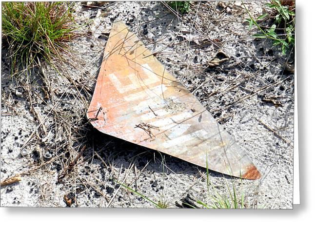 Civil Service Work Greeting Cards - Mine Field Greeting Card by Latisha Wolf
