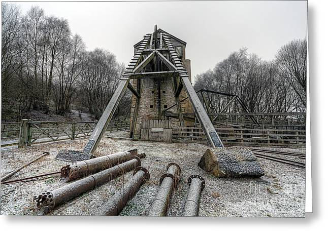 1296 Greeting Cards - Minera Lead Mines Greeting Card by Adrian Evans