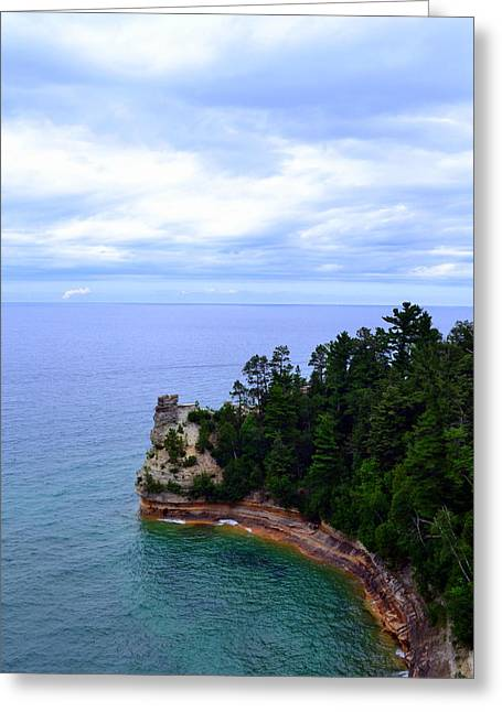 S-layer Greeting Cards - Miners Castle Greeting Card by Michelle Calkins