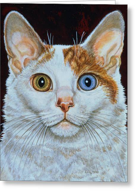 Minette Greeting Card by Ditz