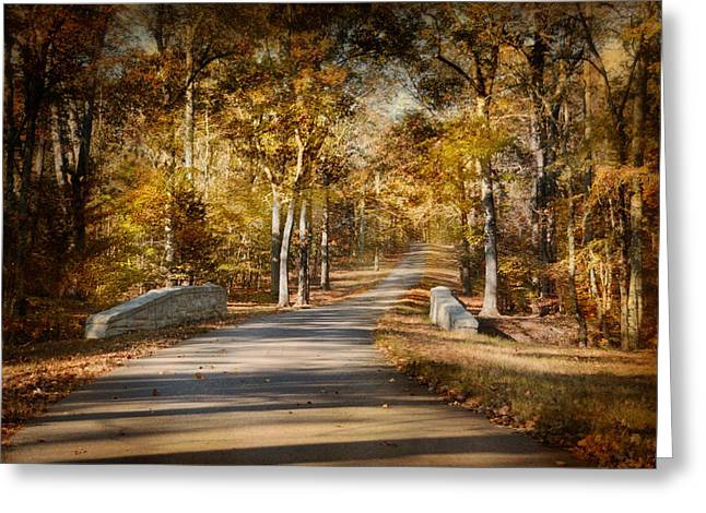 Autumn Scenes Greeting Cards - Mingling With Beauty Greeting Card by Jai Johnson