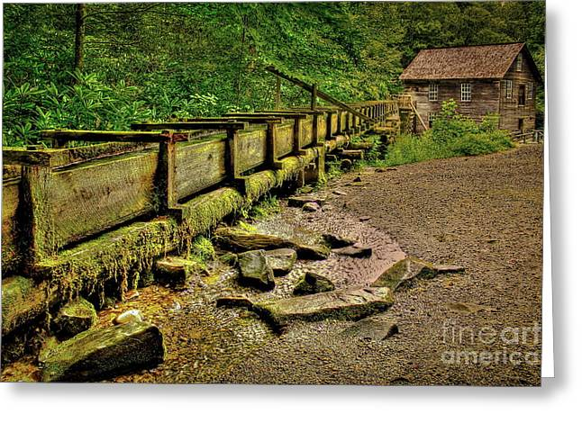 Mingus Mill Greeting Card by Reid Callaway