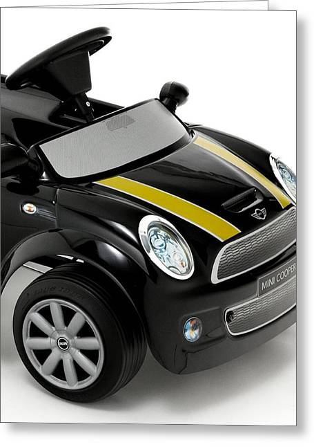 Mini Cooper Greeting Card by Marvin Blaine