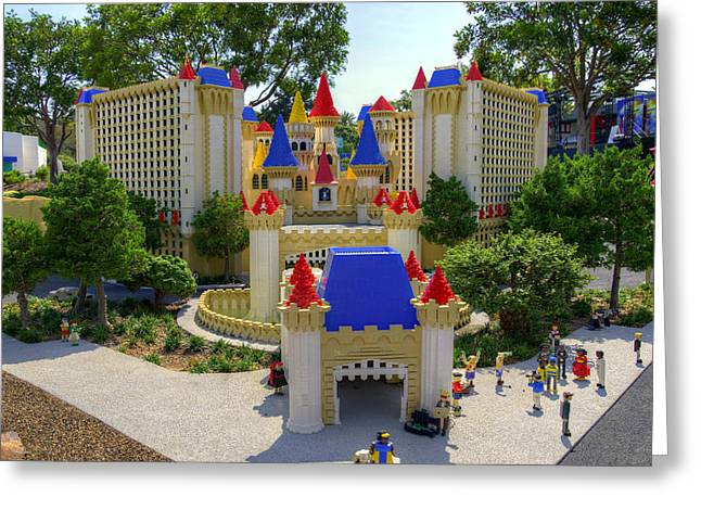 Lego Greeting Cards - Mini Excalibur Greeting Card by Ricky Barnard