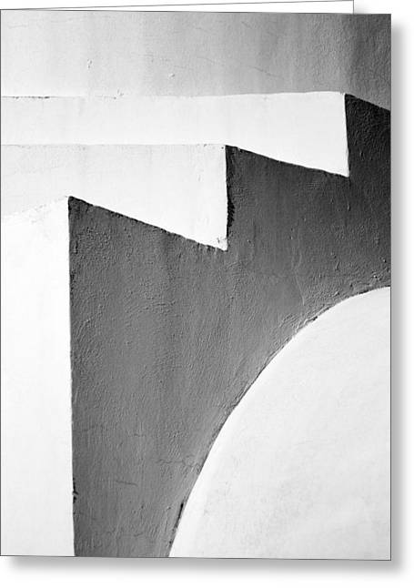 Abstract Style Greeting Cards - Minimal Stairs Greeting Card by Stylianos Kleanthous