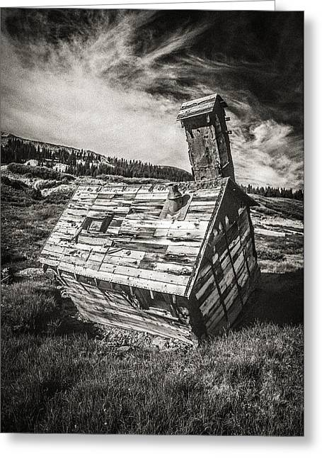 Dilapidated Greeting Cards - Quartz Mountain 4 Greeting Card by Yo Pedro