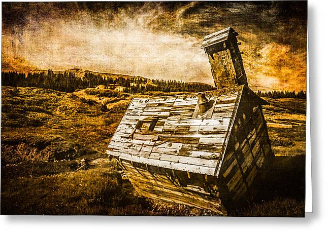Abandoned House Greeting Cards - Quartz Mountain 2 Greeting Card by YoPedro