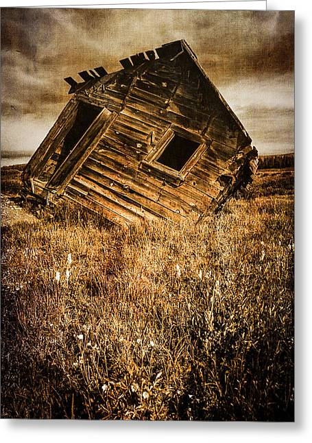 Old Cabins Greeting Cards - Quartz Mountain 6 Greeting Card by YoPedro