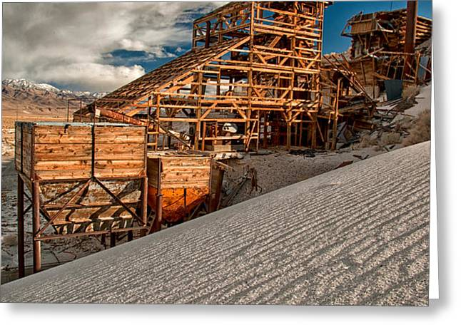 Mining Days Greeting Card by Cat Connor