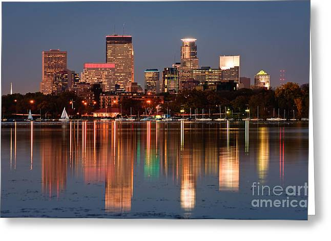 Recently Sold -  - Commercial Photography Greeting Cards - Minneapolis Greeting Card by Joe Mamer
